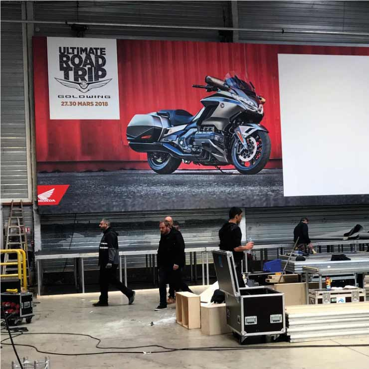 Lancement Honda GoldWing